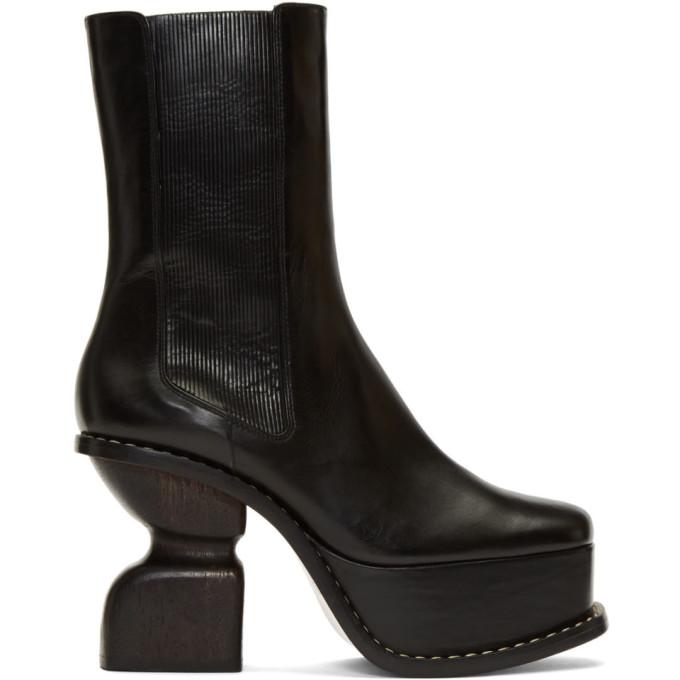 Loewe Black Platform 100 Boots