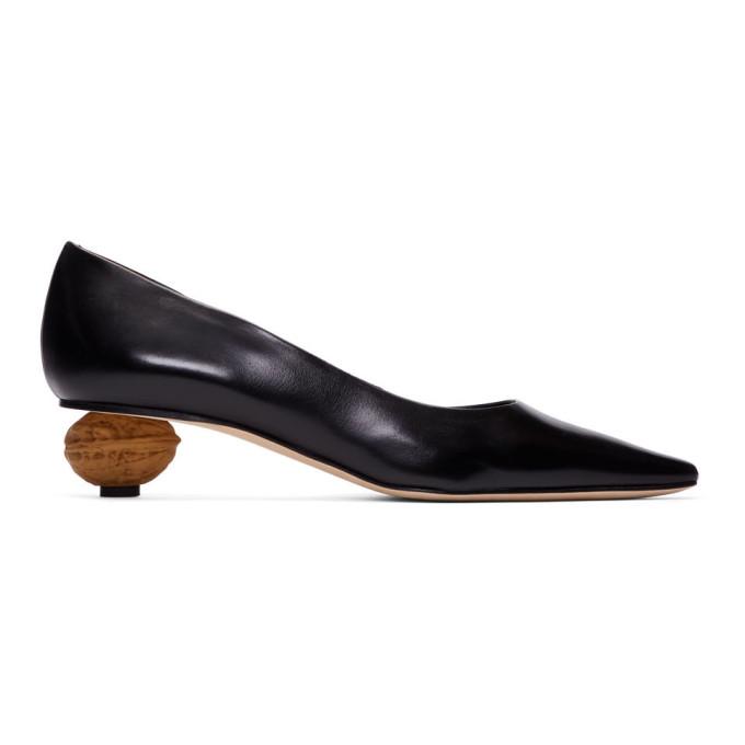 Loewe Black Nut Heel Pumps