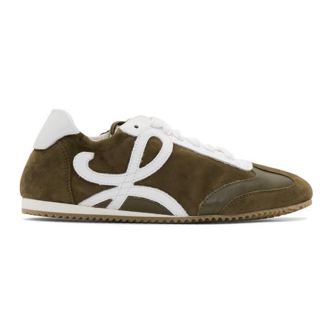 Loewe Green Ballet Runner Sneakers