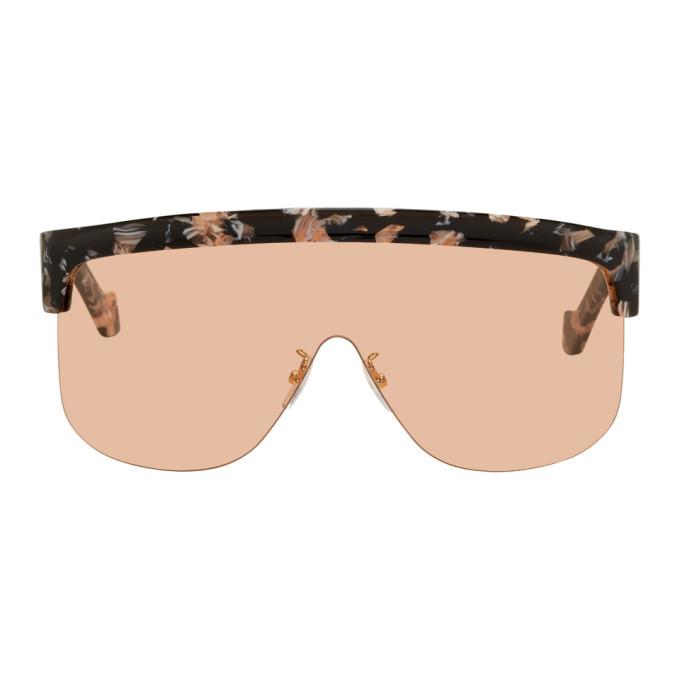 Loewe Black and Orange Show Sunglasses