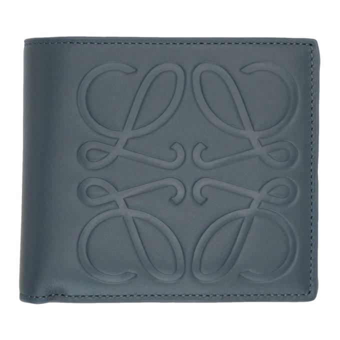 Loewe Blue Logo Bifold Wallet