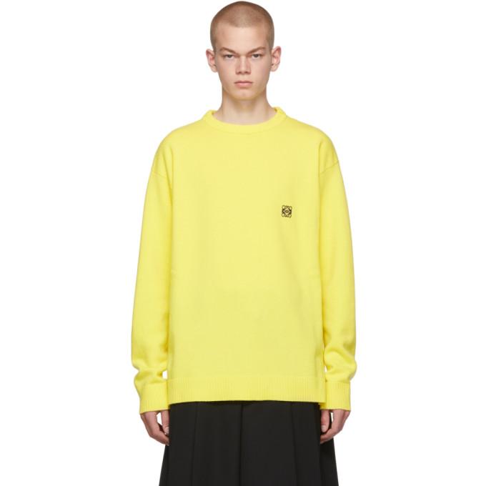 Loewe イエロー アナグラム セーター