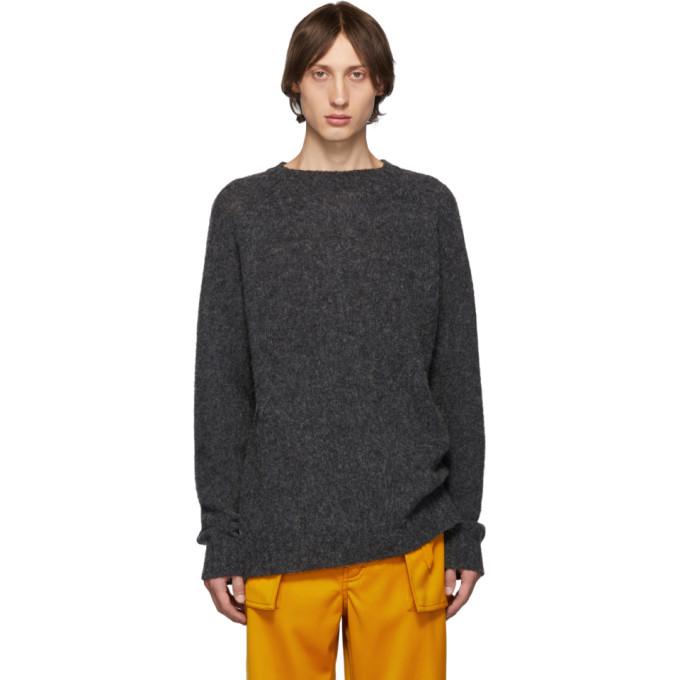 Loewe グレー ウール メランジ セーター