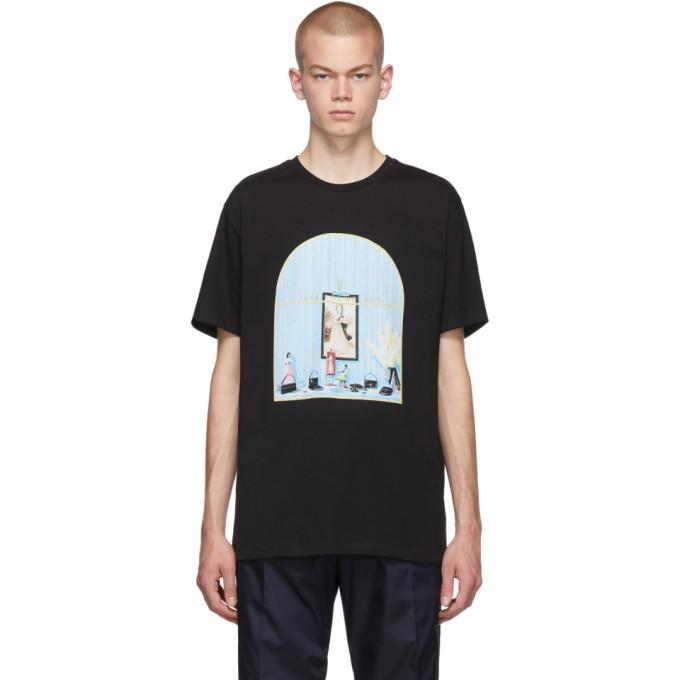Loewe Black 1846 Window T-Shirt