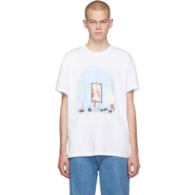 Loewe White 1846 Window T-Shirt
