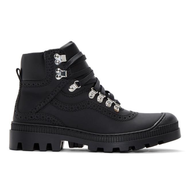 Loewe Black Hiking Boots