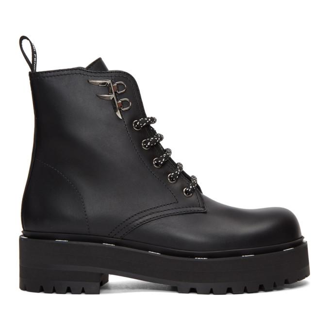 Fendi Black Biker Boots