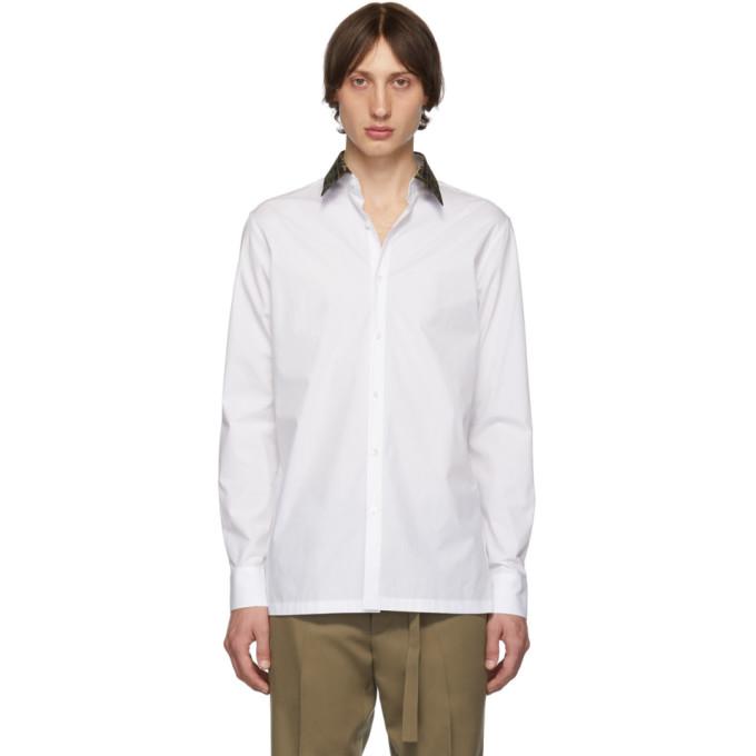 Fendi Chemise blanche Forever Fendi Collar