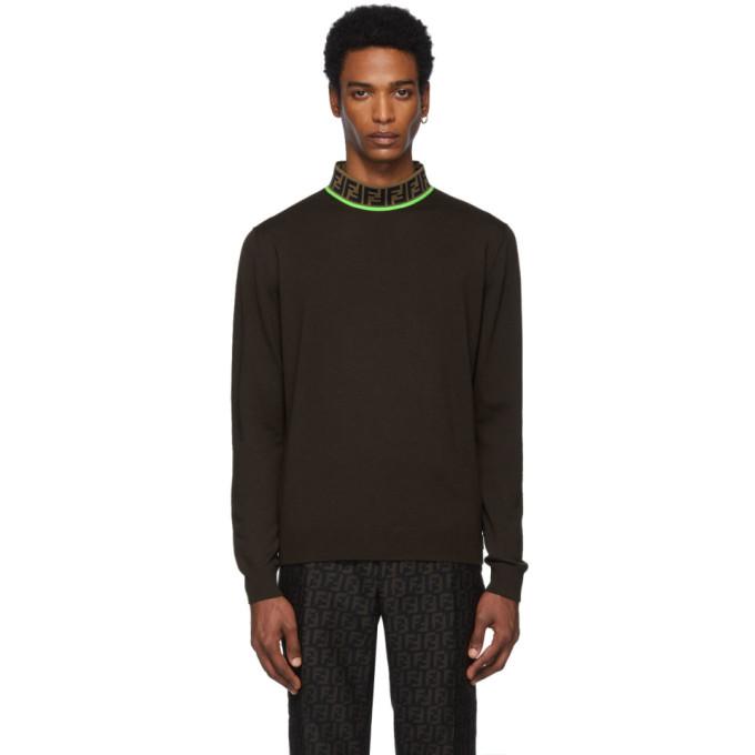FENDI | Fendi Brown Forever Fendi Sweatshirt | Goxip