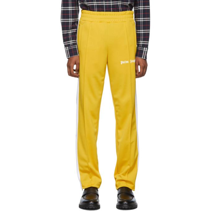Palm Angels Yellow Classic Track Pants