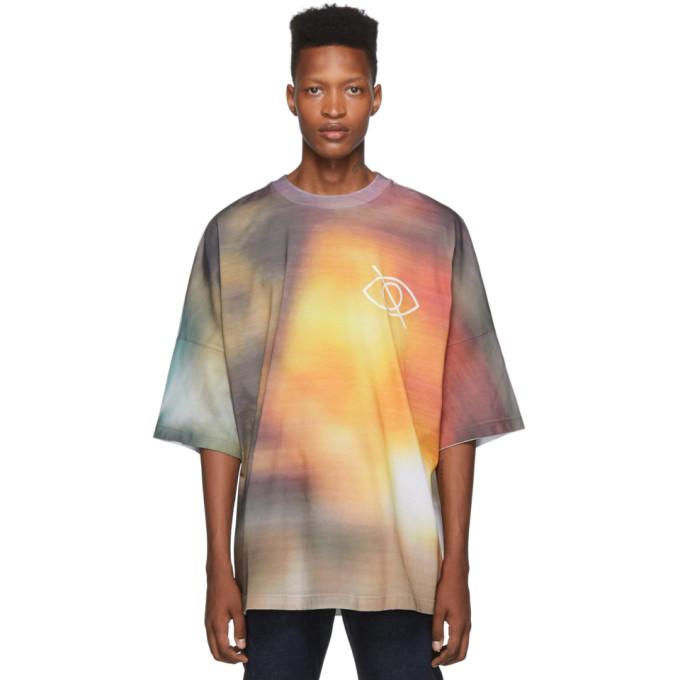 Palm Angels Multicolor Sensitive Content T-Shirt