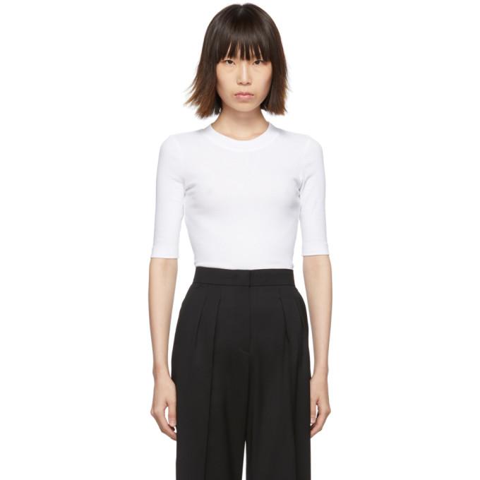Rosetta Getty T-shirt ecourte blanc