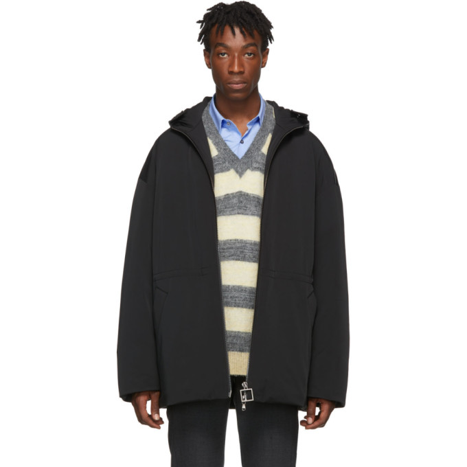 Wooyoungmi Black Down Jacket
