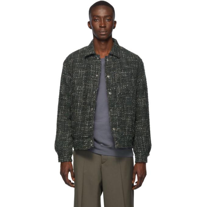 Simon Miller Black Boucle Fray Jacket