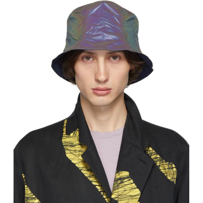 Issey Miyake Hats ISSEY MIYAKE MEN REVERSIBLE NAVY BUCKET HAT