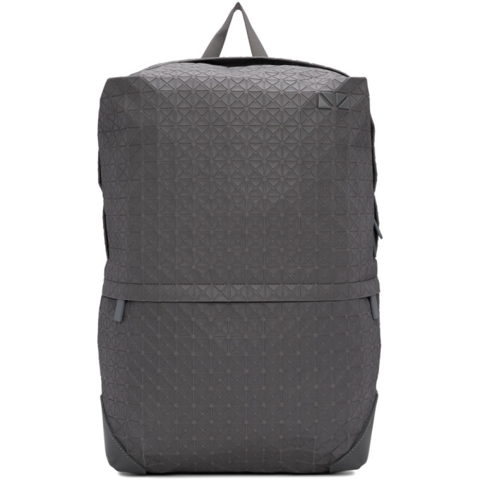 Bao Bao Issey Miyake Grey One-Tone Liner Backpack