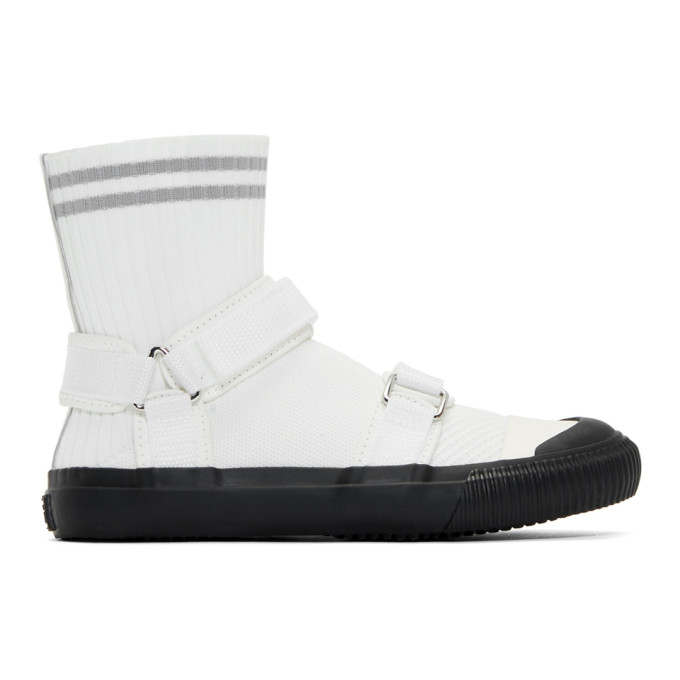 Ys White Sock Sneakers