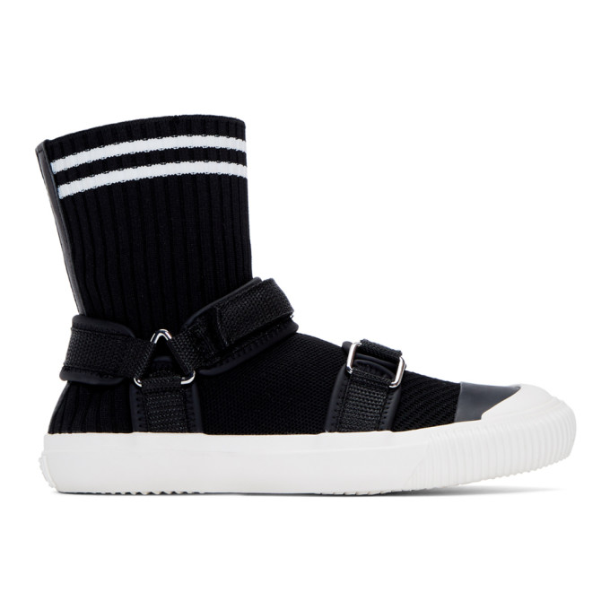 Ys Black Sock Sneakers