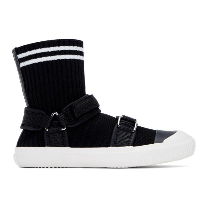 Ys Baskets chaussettes noires