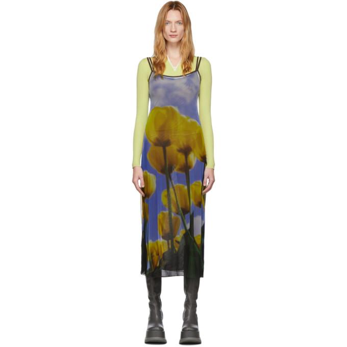 Sunnei Robe multicolore Tulip Double