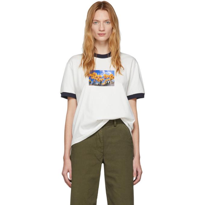 Sunnei T-shirt blanc Tulip