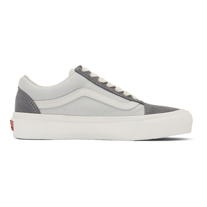 Vans Grey OG Old Skool LX Low Sneakers