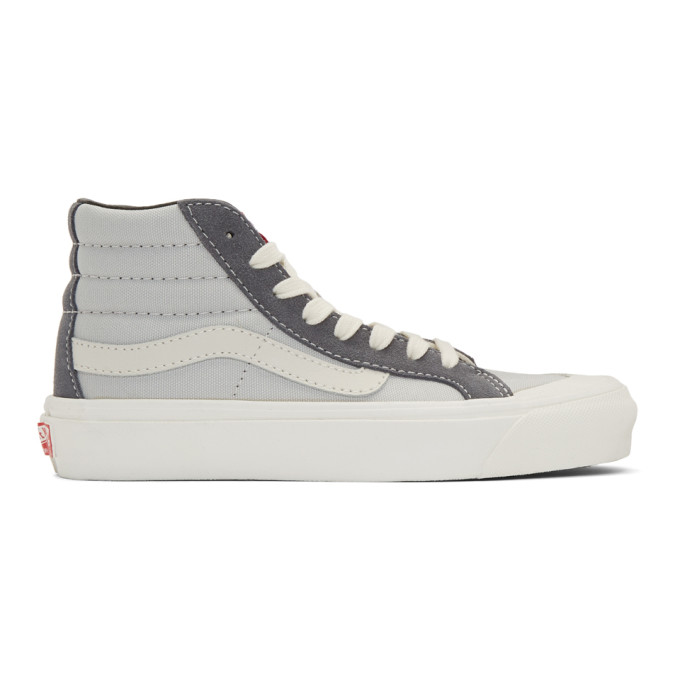 Vans Grey OG 138x High Top Sneakers
