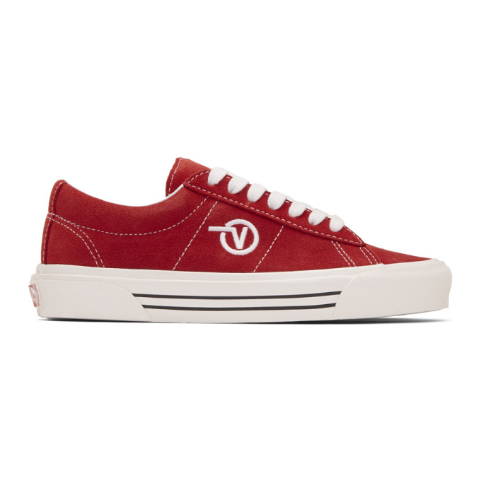 Vans Red Anaheim Factory Sid DX Sneakers