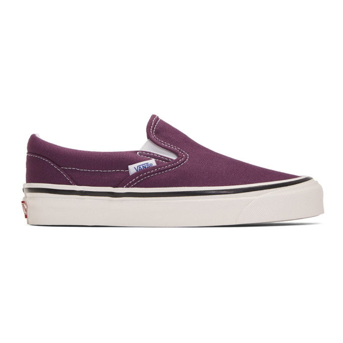Vans Purple Anaheim Factory Classic Slip-On 98 DX Sneakers