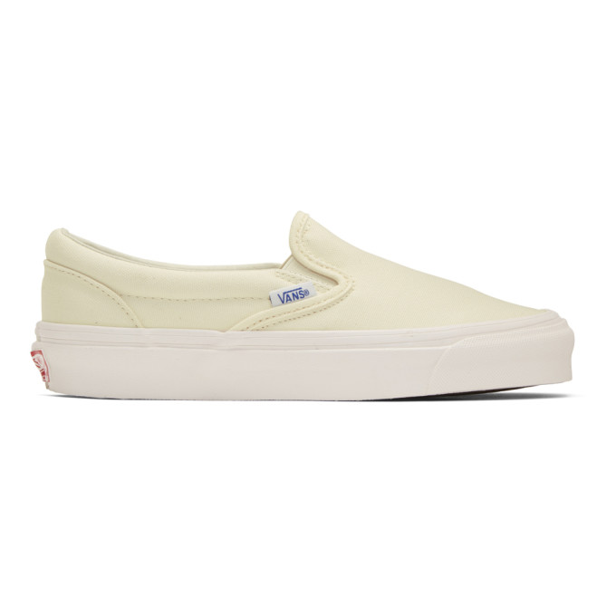 Vans Off-White OG Classic Slip-On Sneakers