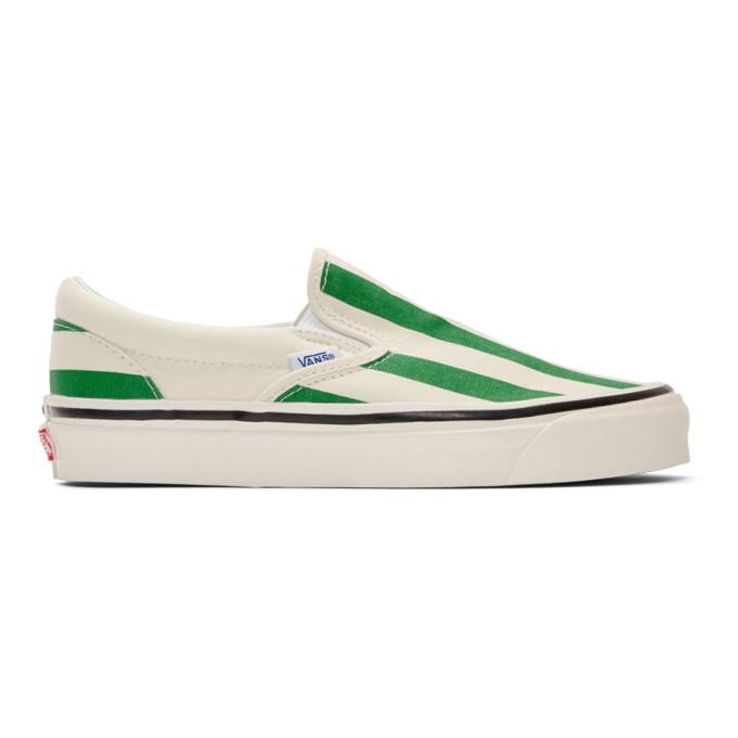 White Striped Classic 98 DX Slip