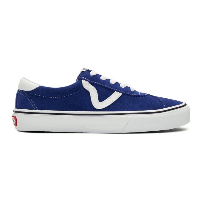 Vans Blue Suede Sport Sneakers
