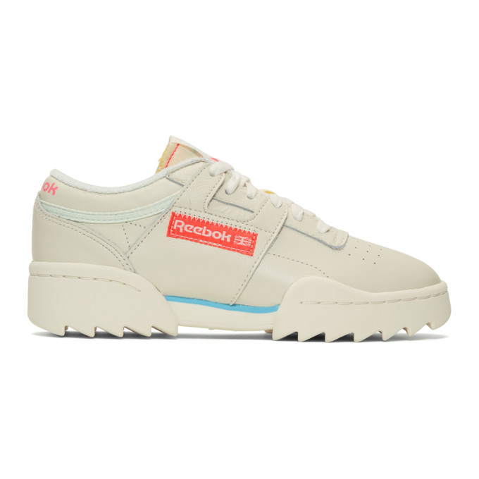 Reebok Classics Off-White Workout Ripple OG Sneakers