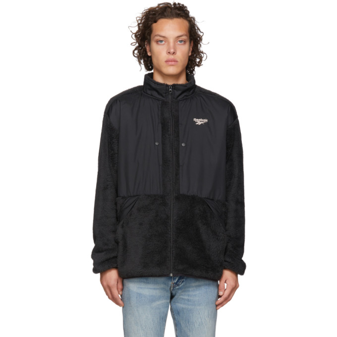 Reebok Classics Black Trail Full Zip Jacket