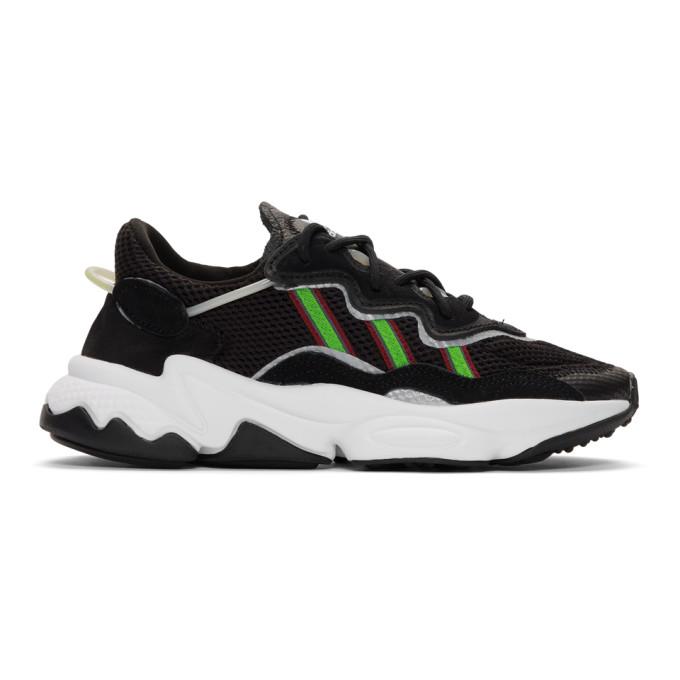 adidas Originals Black Ozweego Sneakers