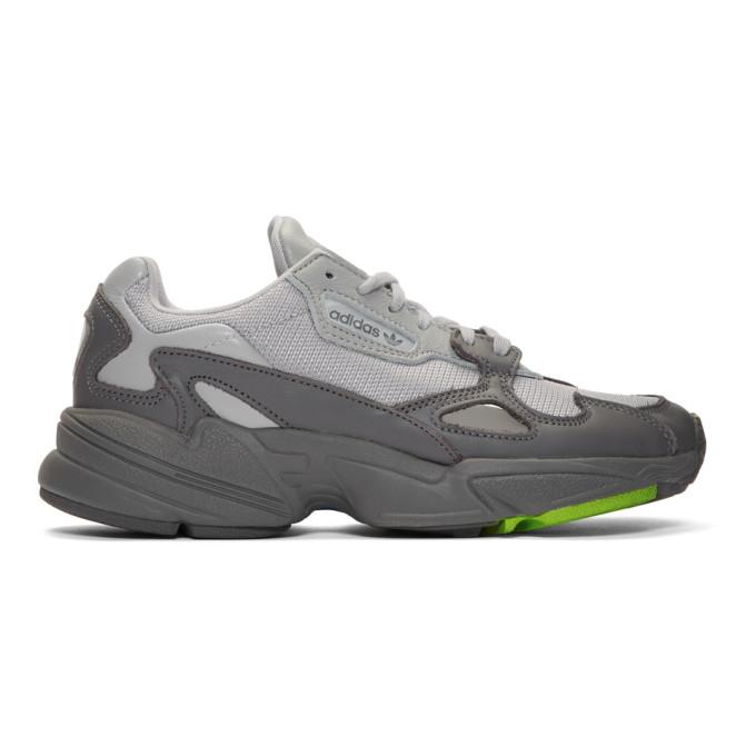 adidas Originals Grey Falcon Sneakers