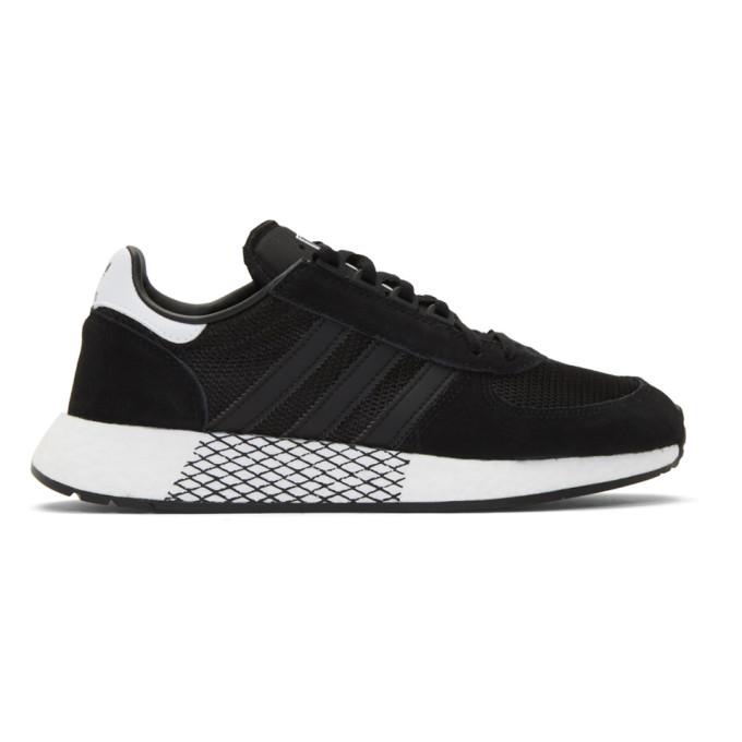 adidas Originals Black Marathon Tech Sneakers