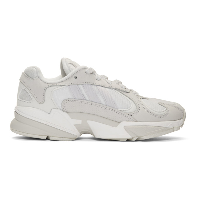 adidas Originals White Yung 1 Sneakers