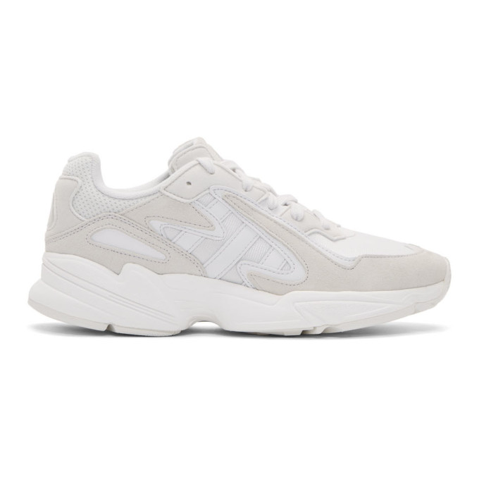adidas Originals White Yung 96 Chasm Sneakers