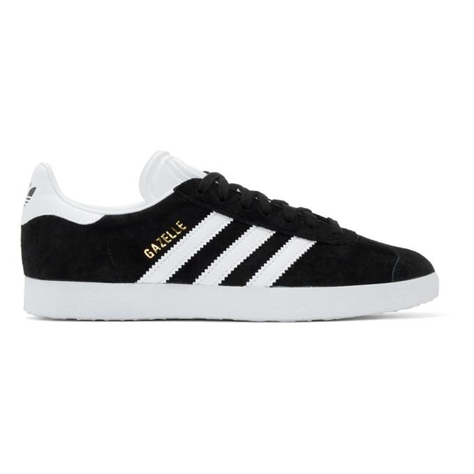 adidas Originals Black Gazelle Sneakers