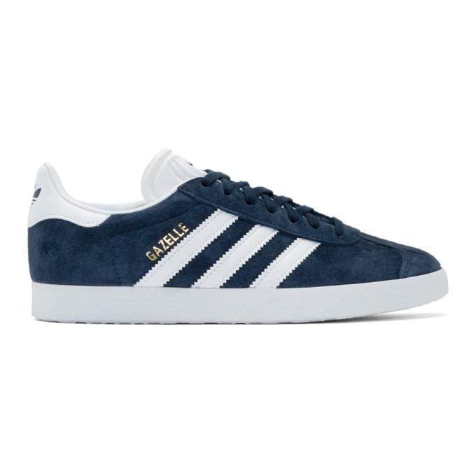 adidas Originals Navy Gazelle Sneakers