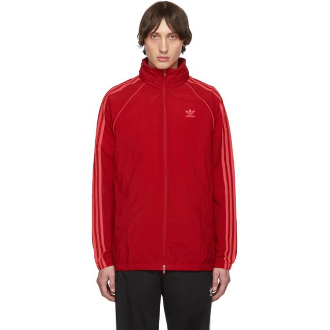Adidas Originals Jackets RED SST WINDBREAKER JACKET