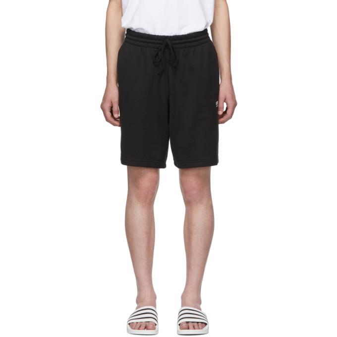 Adidas Originals Shorts ADIDAS ORIGINALS BLACK VOCAL TRACK SHORTS