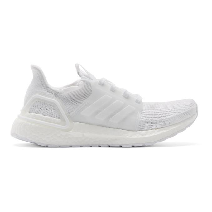 adidas Originals White UltraBoost 19 Sneakers