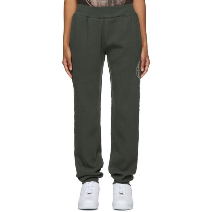 Telfar Pantalon de survetement vert Thermal Long Johns