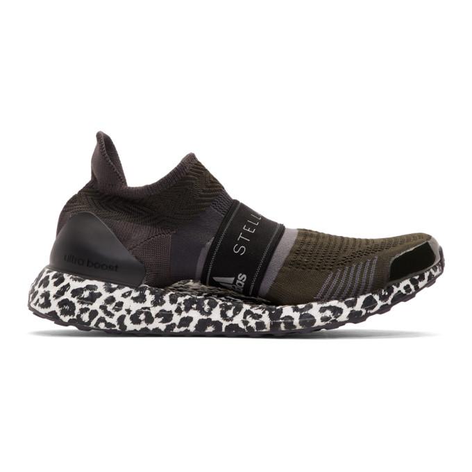 adidas by Stella McCartney Black Parley UltraBoost X 3D Sneakers