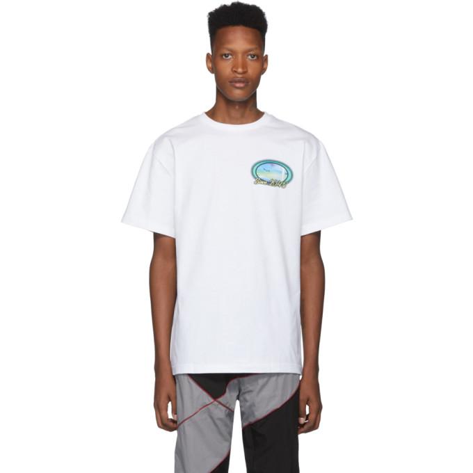 Liam Hodges T-shirt blanc 2045 Dream Holiday