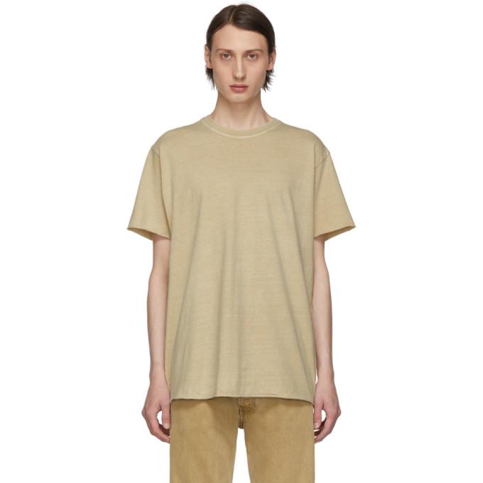 John Elliott T-shirt blanc casse Anti-Expo