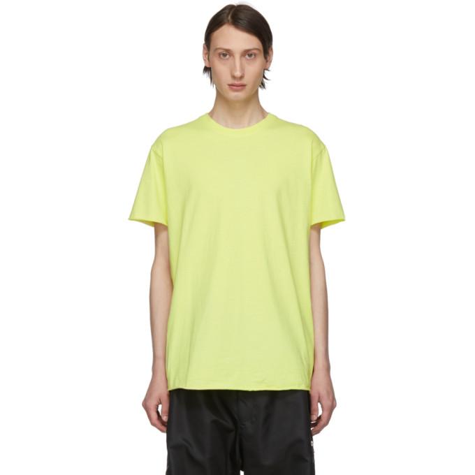 John Elliott T-shirt jaune Expo