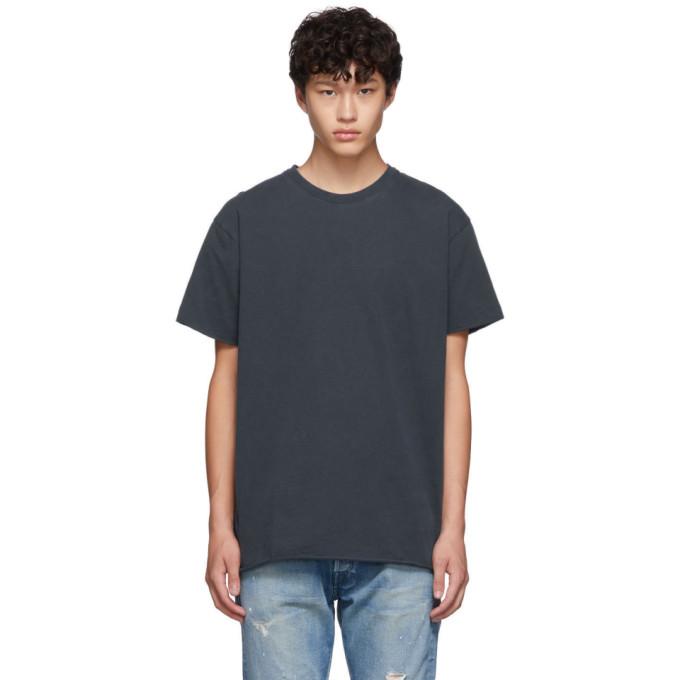 John Elliott Navy Anti-Expo T-Shirt